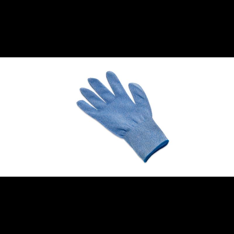 Vágásbiztos kesztyű kék (L)