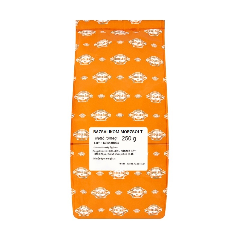 Bazsalikom morzsolt 250 g