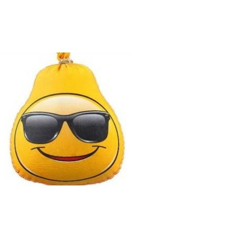 """Textilbél mosolygós """"SMILEY"""" napszemüvegben 300 g"""